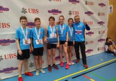 Schweizer Final UBS Kids Cup Team
